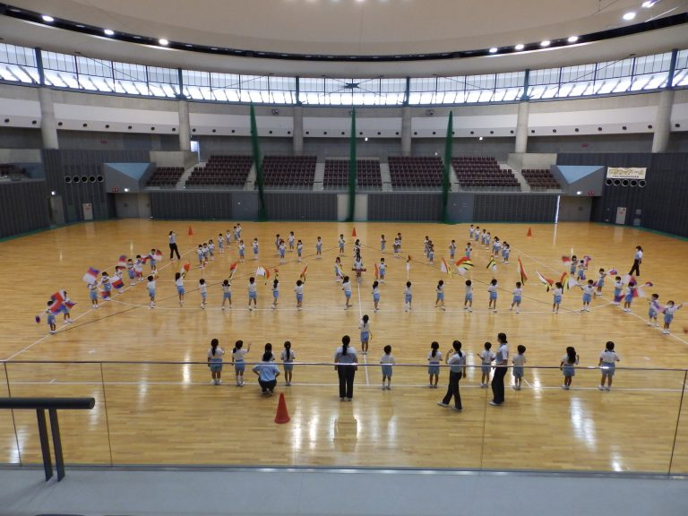 運動会予行練習 ⑬ 年長組