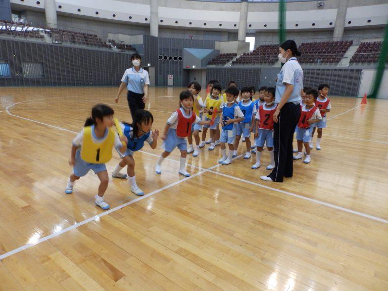 運動会予行練習 ⑭ 年長組