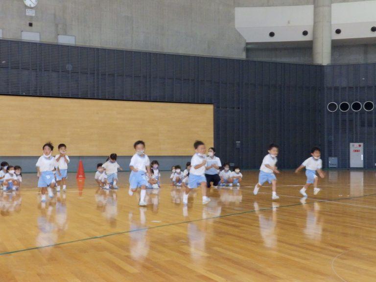 運動会予行練習 ② 年少組