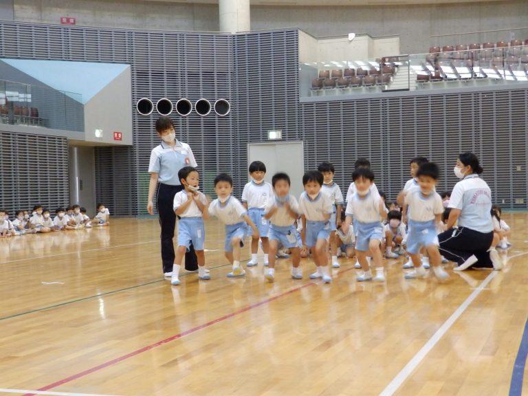 運動会予行練習 ⑤ 年中組