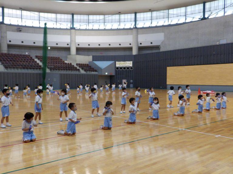 運動会予行練習 ⑥ 年中組