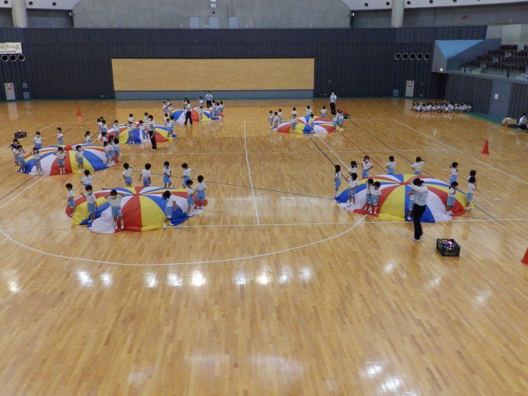 運動会予行練習 ⑦ 年中組