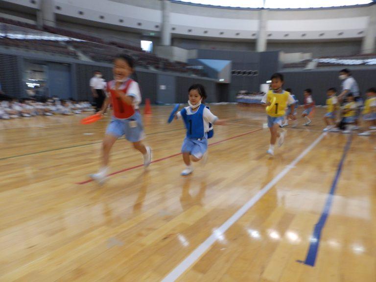 運動会予行練習 ⑧ 年中組