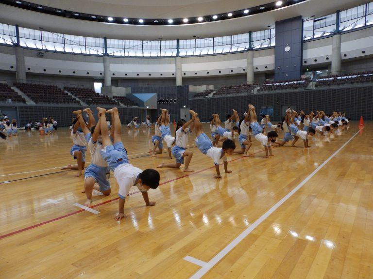 運動会予行練習 ⑨ 年長組